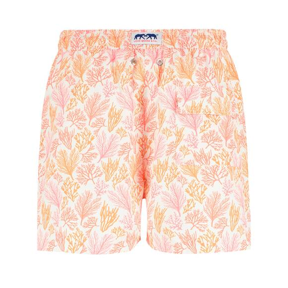 Love Brand Staniel Badehose, Crazy Coral/Orange