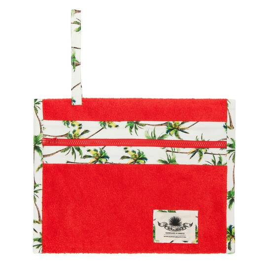 Holiday Pochette, Havana Orange
