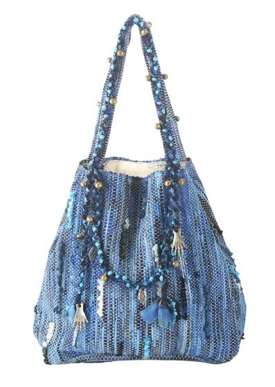 Tasche Vasso Medium, blau