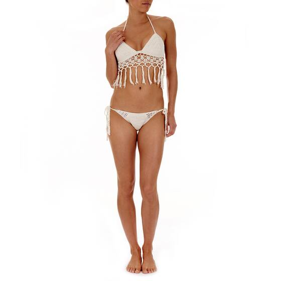 Crochet Bikini with Fringes