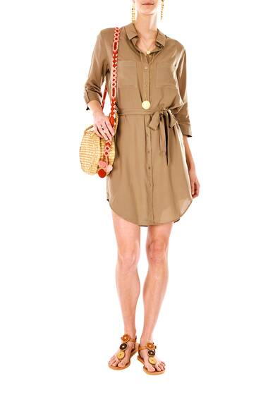Venice Relaxed Shirt Dress