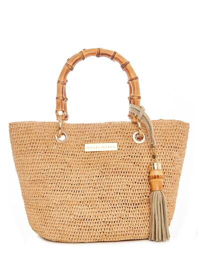 Savannah Bay Mini Bamboo Bag
