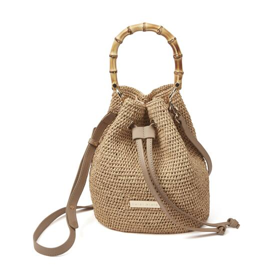 Savannah Bay Bamboo Duffle Super Mini Bag