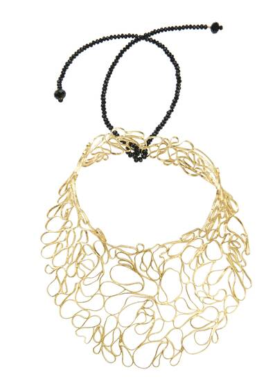 Golden Lace Necklace