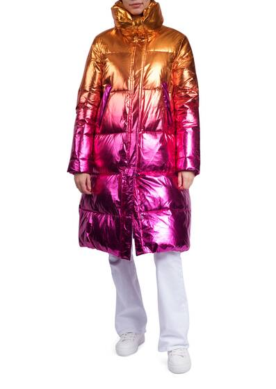 Catherine Long Metallic Jacket