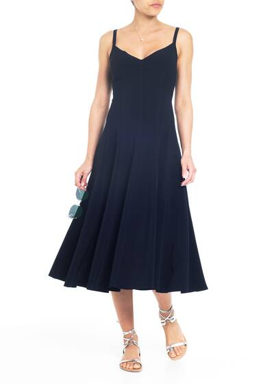 Kleid 'Slip Grace Dress', navy blue