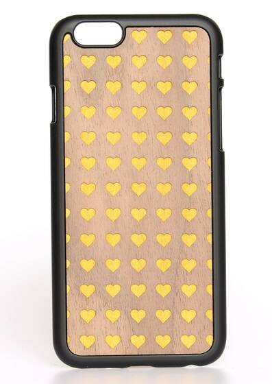 iPhone 6 Case 'Heart Yellow'