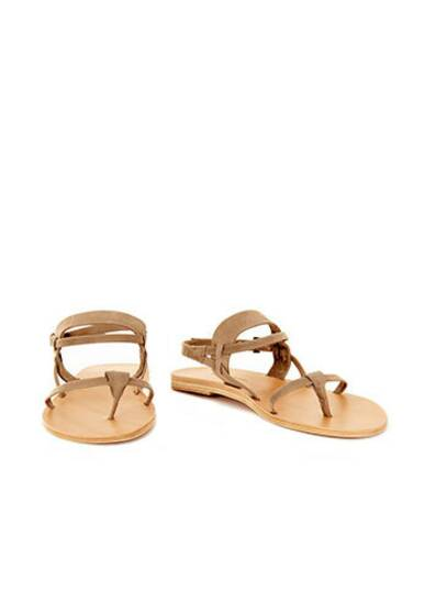 Navarre Leather Sandals Fossil