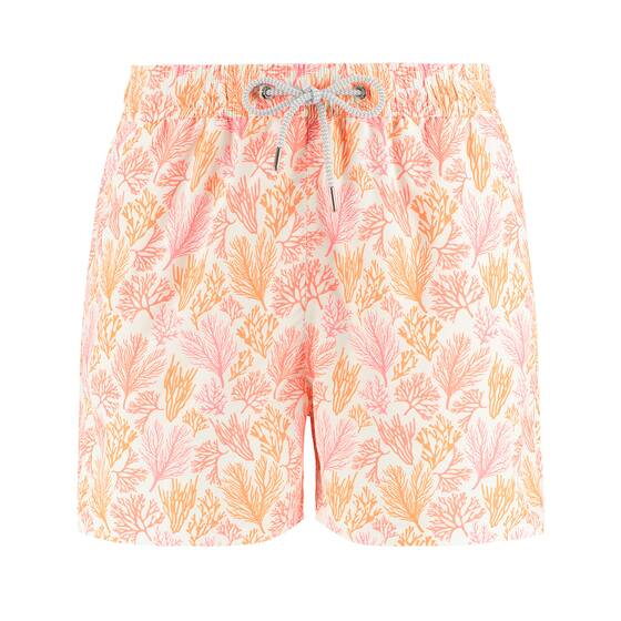 Staniel Swim Short, Crazy Coral/Orange