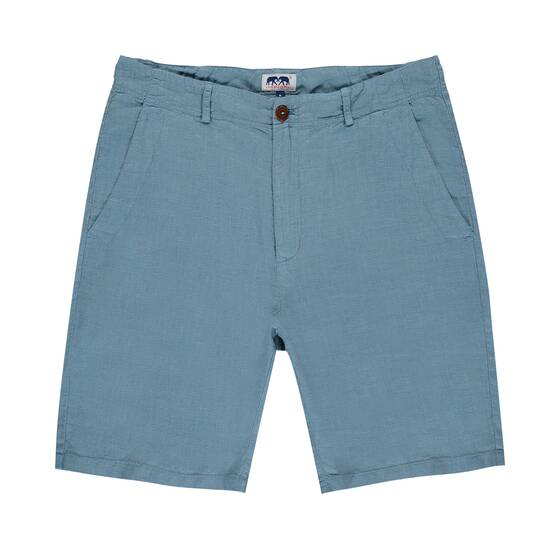 Burrow Leinen Short, French Blue