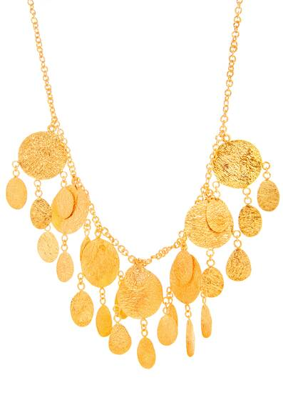 Mahsa Necklace, Gold Vermeil
