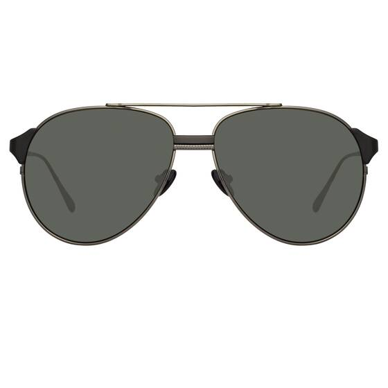 BROOKS AVIATOR Sunglasses in Nickel