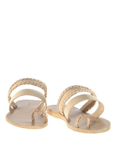 Sand Hills Leather Sandals Cream