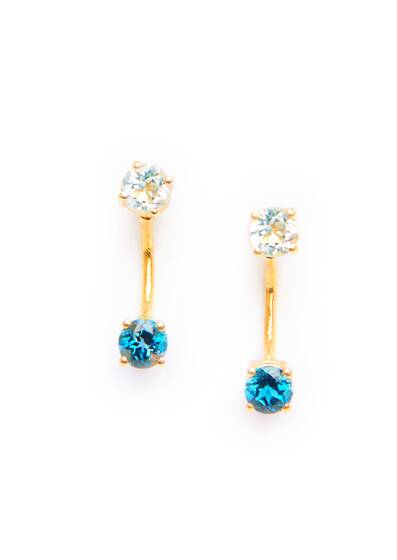 Nyx Earrings, blue