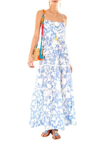 Langkawi Floral Cotton Maxi Dress