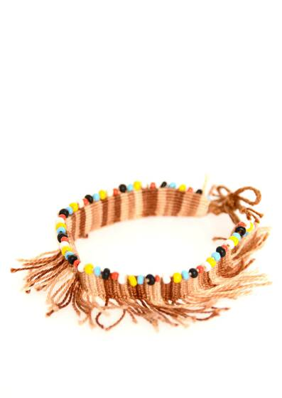 "Anklet ""Georgina"" Multicolour Beads"