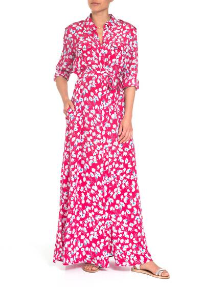 Major Maxi Kleid, pink