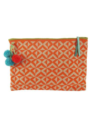 Lia Clutch, orange