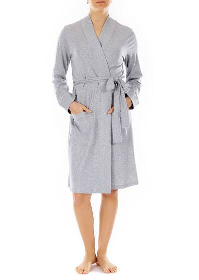 Wrap Robe grey