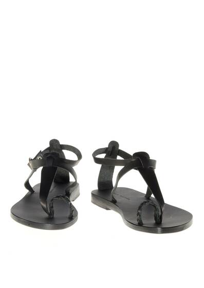 Lorient Leather Sandals Black