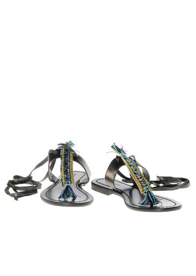 Sandals Black in Leather