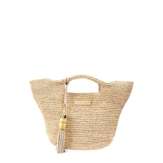 Grace Bay Mini Raffia Bucket Bag